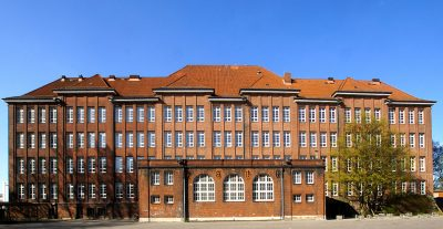 The school at Bullenhuser Damm where the murders occurred.