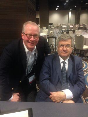 With Sir Richard Evans